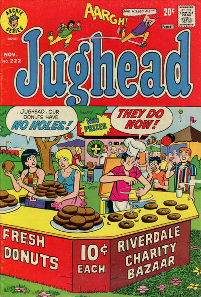 Cover for Jughead (Archie, 1965 series) #222