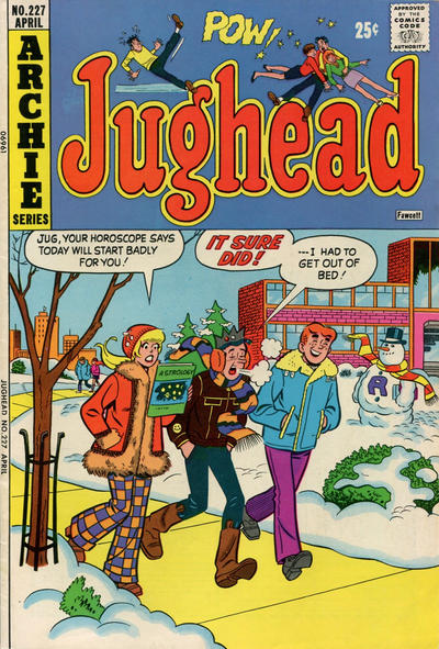 Cover for Jughead (Archie, 1965 series) #227
