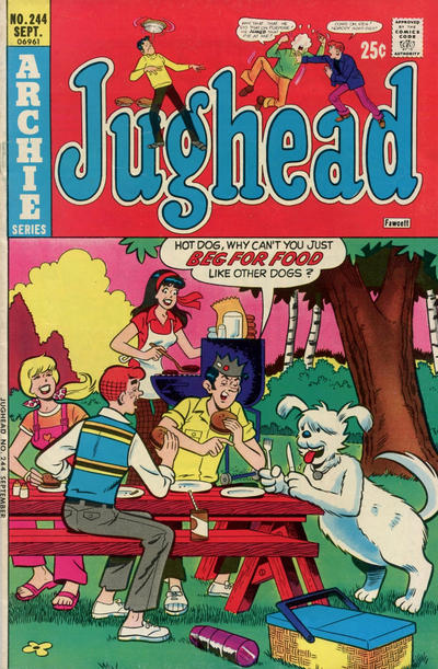 Cover for Jughead (Archie, 1965 series) #244