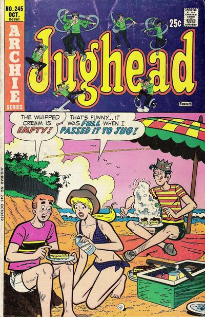 Cover for Jughead (Archie, 1965 series) #245