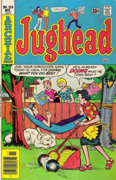 Cover for Jughead (Archie, 1965 series) #258