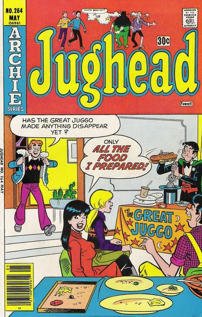 Cover for Jughead (Archie, 1965 series) #264
