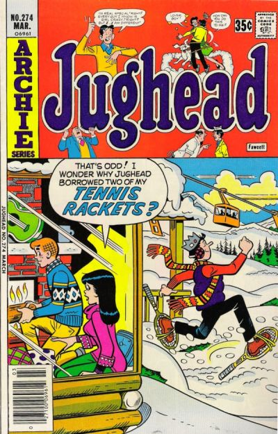 Cover for Jughead (Archie, 1965 series) #274