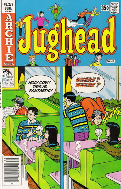 Cover for Jughead (Archie, 1965 series) #277