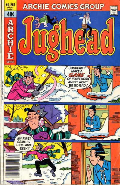 Cover for Jughead (Archie, 1965 series) #287