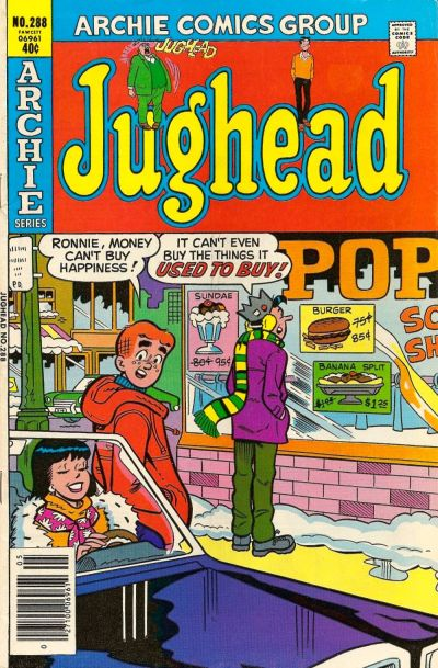 Cover for Jughead (Archie, 1965 series) #288