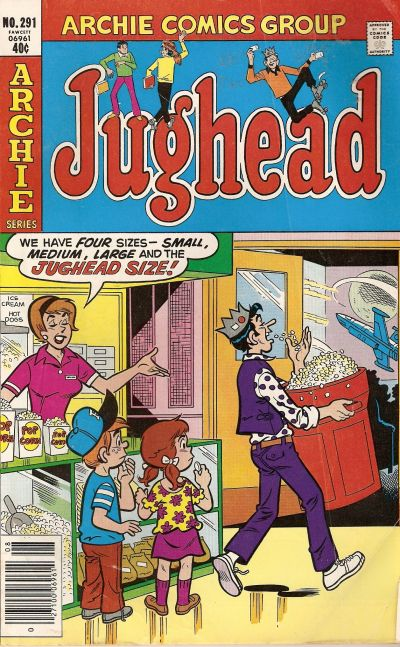 Cover for Jughead (Archie, 1965 series) #291