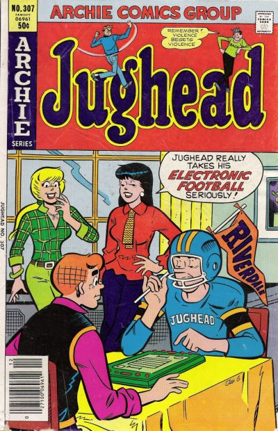 Cover for Jughead (Archie, 1965 series) #307