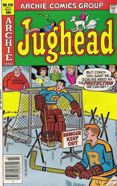 Cover for Jughead (Archie, 1965 series) #310