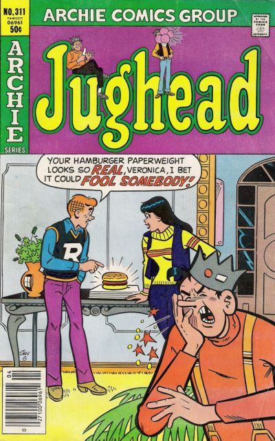 Cover for Jughead (Archie, 1965 series) #311