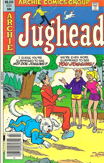 Cover for Jughead (Archie, 1965 series) #314