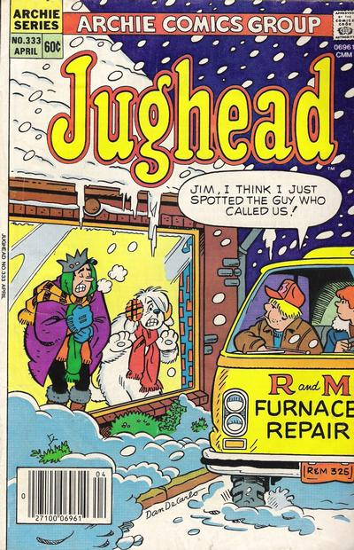 Cover for Jughead (Archie, 1965 series) #333