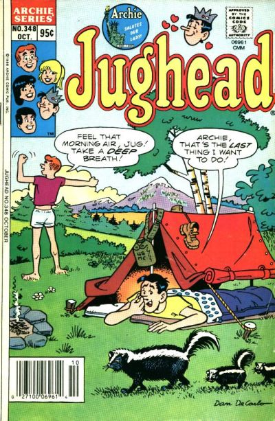 Cover for Jughead (Archie, 1965 series) #348