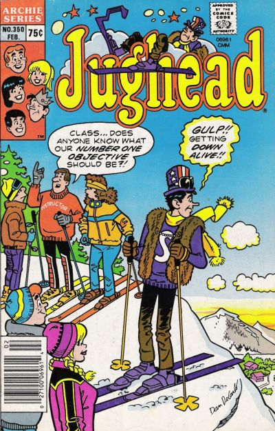Cover for Jughead (Archie, 1965 series) #350