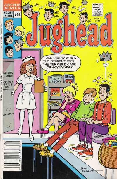 Cover for Jughead (Archie, 1965 series) #351