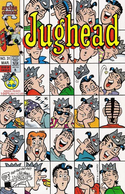 Cover for Jughead (Archie, 1987 series) #31