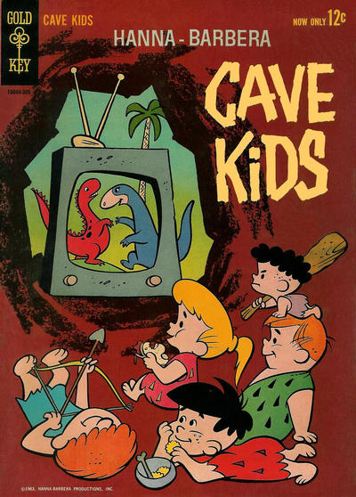 Cover for Cave Kids (Western, 1963 series) #2