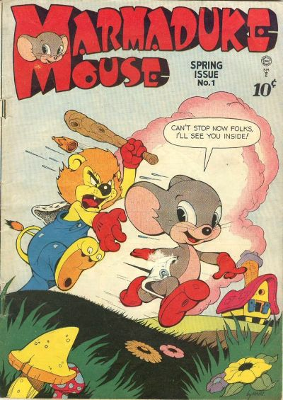 Cover for Marmaduke Mouse (Quality Comics, 1946 series) #1