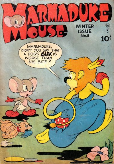 Cover for Marmaduke Mouse (Quality Comics, 1946 series) #8