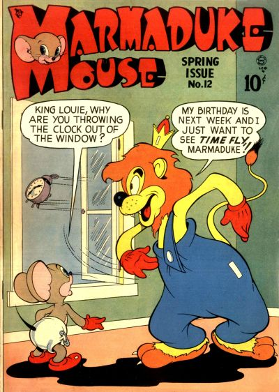 Cover for Marmaduke Mouse (Quality Comics, 1946 series) #12