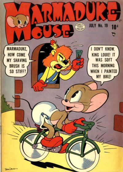 Cover for Marmaduke Mouse (Quality Comics, 1946 series) #19