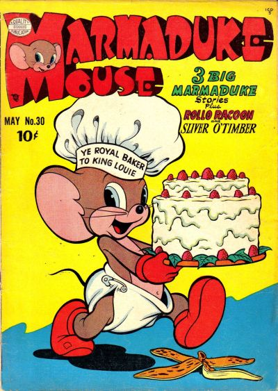Cover for Marmaduke Mouse (Quality Comics, 1946 series) #30