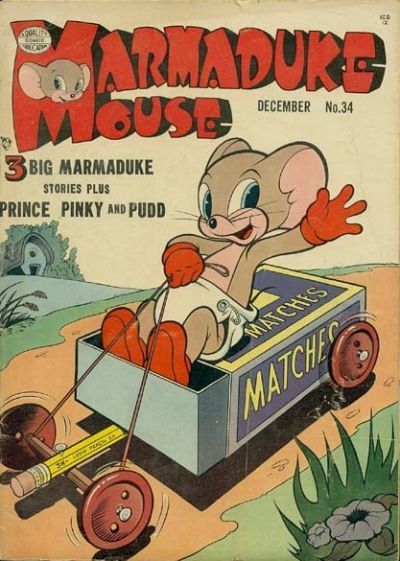 Cover for Marmaduke Mouse (Quality Comics, 1946 series) #34