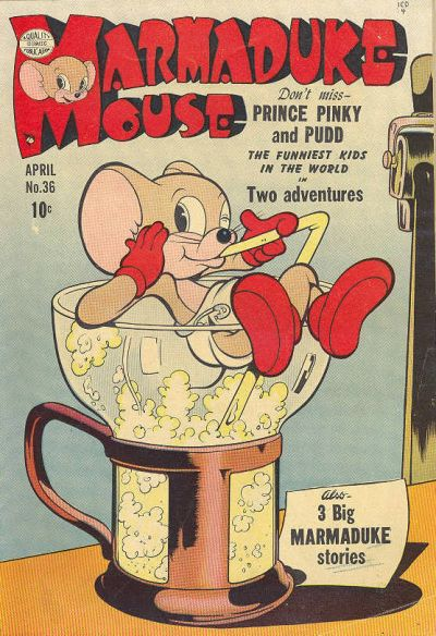 Cover for Marmaduke Mouse (Quality Comics, 1946 series) #36