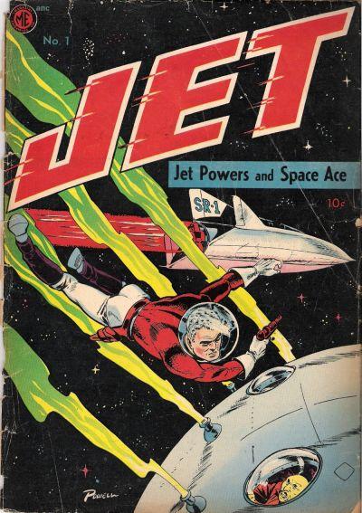 Cover for Jet Powers (Magazine Enterprises, 1950 series) #1 [A-1 #30]