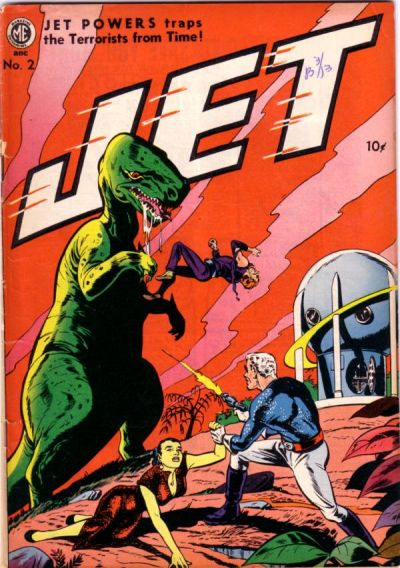 Cover for Jet Powers (Magazine Enterprises, 1950 series) #2 [A-1 #32]