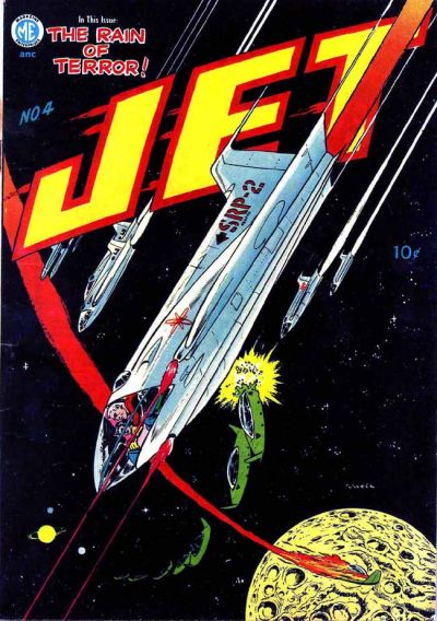 Cover for Jet Powers (Magazine Enterprises, 1950 series) #4 [A-1 #39]