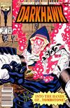 Cover for Darkhawk (Marvel, 1991 series) #15 [Newsstand]