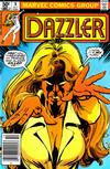 Cover for Dazzler (Marvel, 1981 series) #8 [Newsstand Edition]