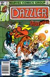 Cover for Dazzler (Marvel, 1981 series) #15 [Newsstand]