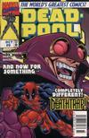 Cover for Deadpool (Marvel, 1997 series) #9 [Newsstand]