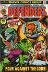 Cover for The Defenders (Marvel, 1972 series) #3