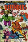 Cover for The Defenders (Marvel, 1972 series) #9 [Regular Edition]