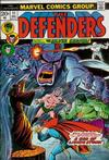 Cover for The Defenders (Marvel, 1972 series) #11 [Regular Edition]