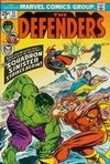 Cover for The Defenders (Marvel, 1972 series) #13