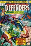 Cover for The Defenders (Marvel, 1972 series) #15 [Regular Edition]