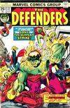 Cover for The Defenders (Marvel, 1972 series) #22 [Regular Edition]