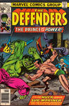 Cover Thumbnail for The Defenders (1972 series) #52 [30¢]