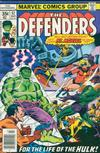 Cover for The Defenders (Marvel, 1972 series) #57