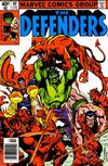 Cover for The Defenders (Marvel, 1972 series) #80 [Newsstand]