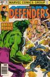 Cover for The Defenders (Marvel, 1972 series) #84 [Newsstand]