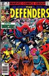 Cover for The Defenders (Marvel, 1972 series) #95 [Newsstand]