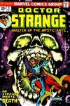 Cover for Doctor Strange (Marvel, 1974 series) #4 [Regular Edition]