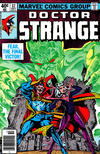 Cover for Doctor Strange (Marvel, 1974 series) #37 [Newsstand Edition]