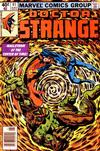 Cover for Doctor Strange (Marvel, 1974 series) #41 [Newsstand Edition]