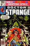 Cover for Doctor Strange (Marvel, 1974 series) #43 [Newsstand Edition]